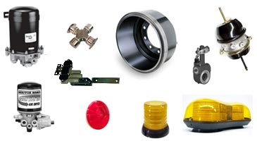 Heavy truck parts and accessories